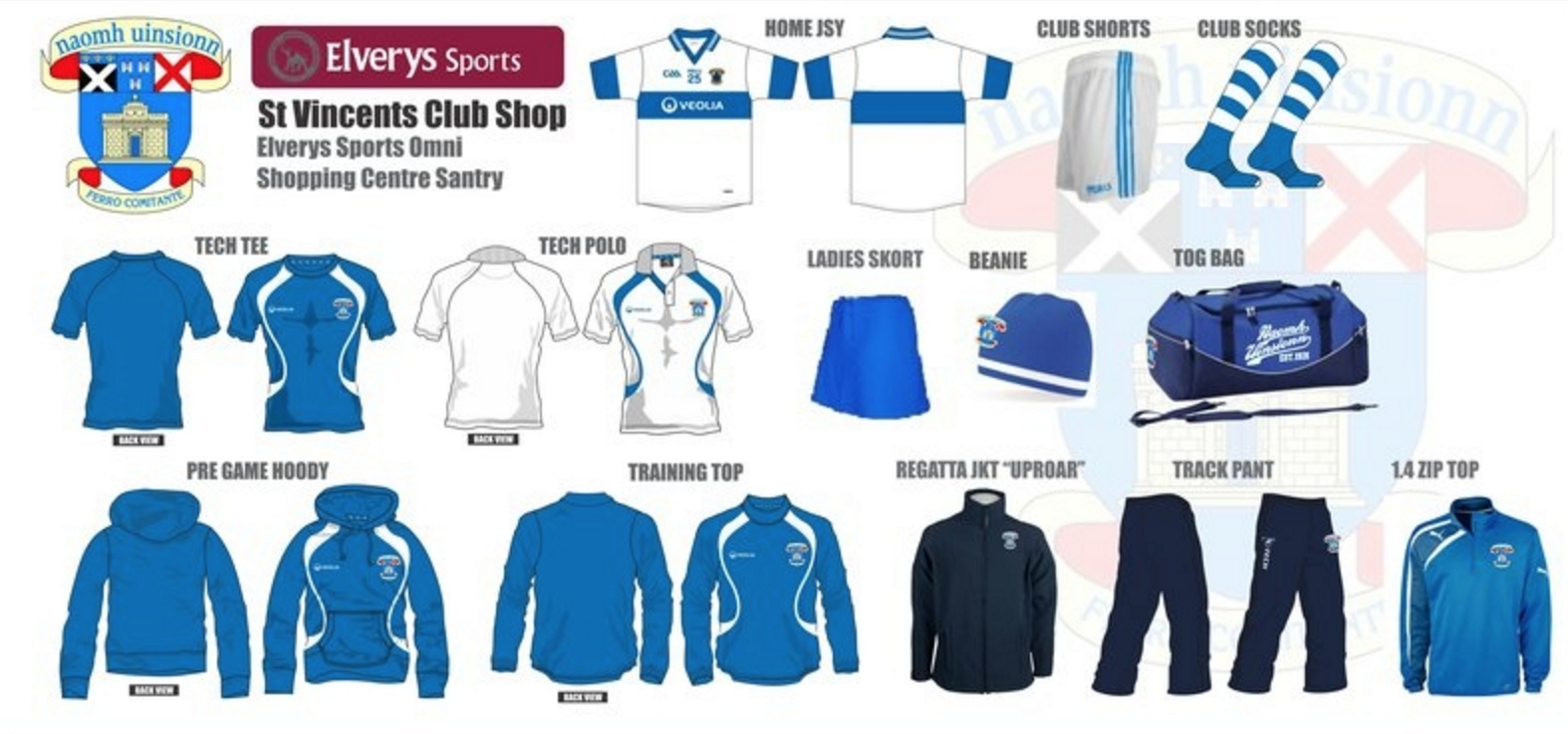online store c5840 8a32a clothing-photo - St Vincents GAA