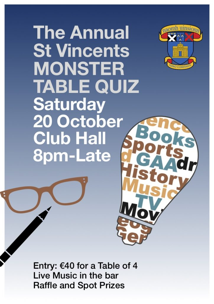 Flyer for Monster Quiz